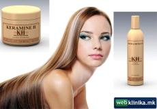 10% ПОПУСТ на пакет Медицински Шампон за заштита на обоена коса со UV филтер + Медицинска маска за заштита на обоена коса со UV филтер.