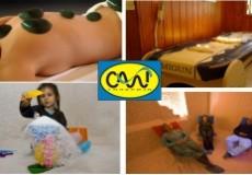 """73% попуст на Мигун - термо масажа со жад камења на мигун термомасажен кревет (30 мин.) + третман во солена соба (40 мин.) во """"Салт галерија""""."""