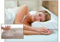 22% ПОПУСТ на Ортопедска, Мемори контур перница, за здрав сон и денови полни со елан, за целото семејство.